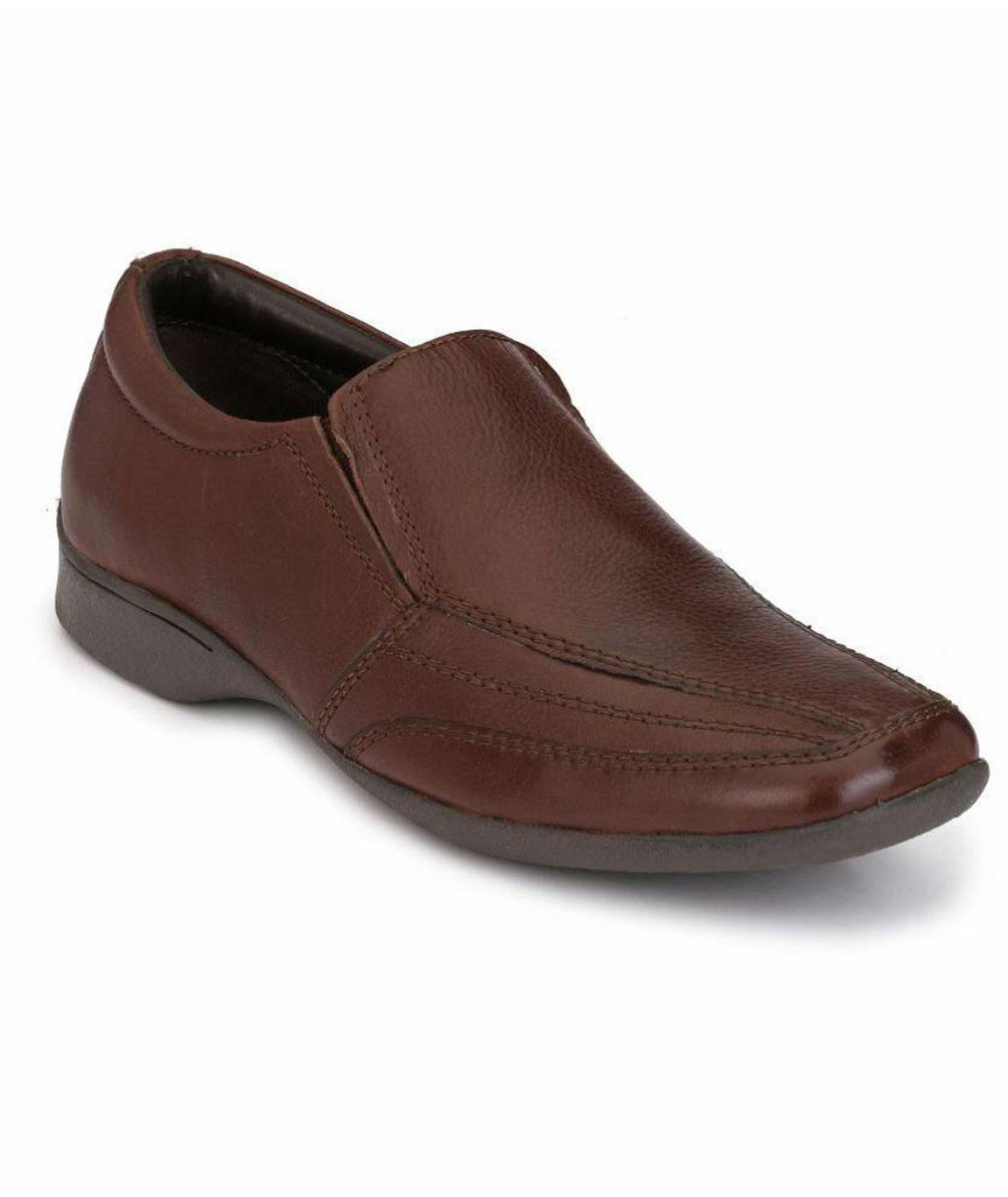 Boggy Confort Brown Formal Shoes