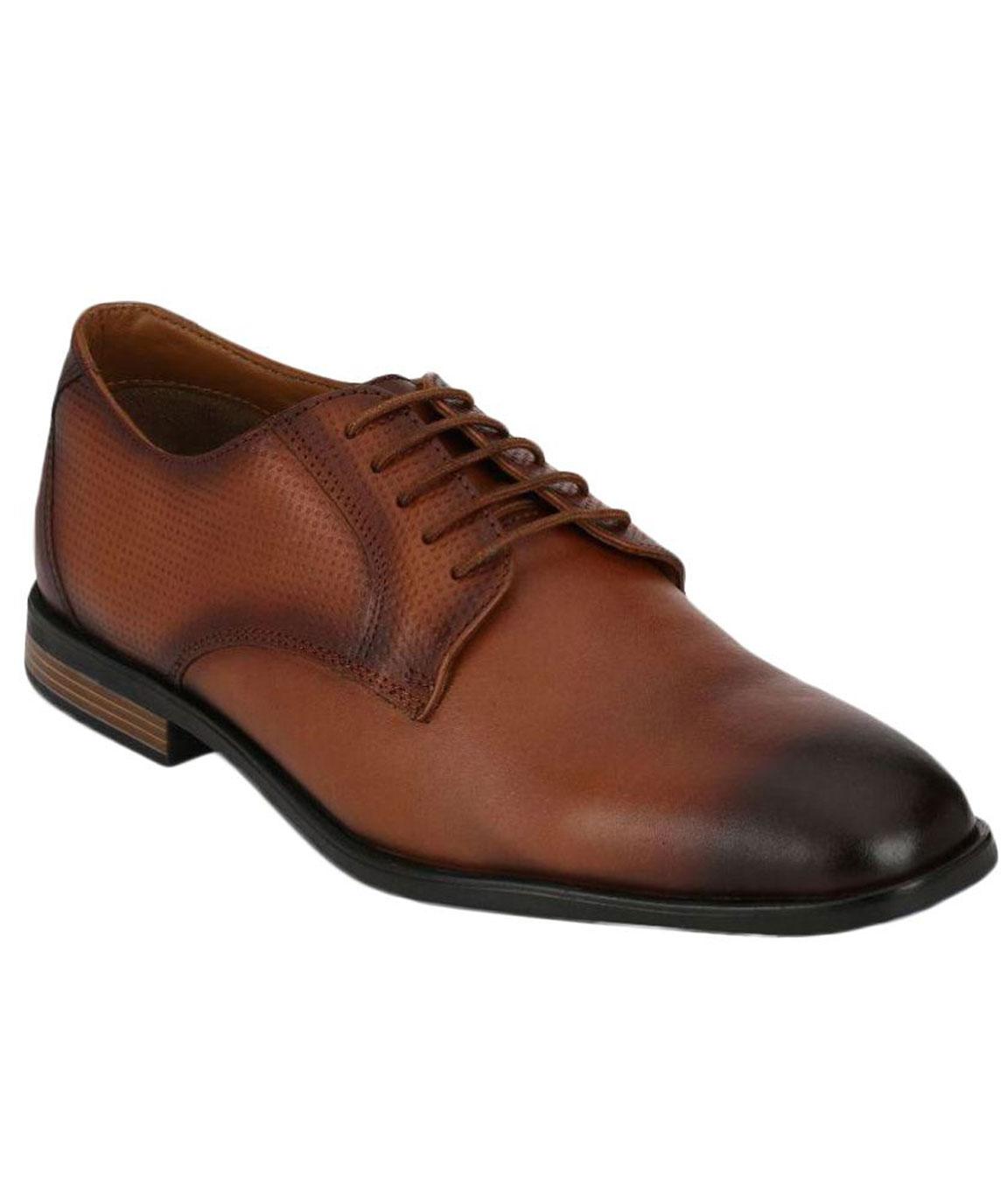 Boggy Confort Tan Formal Shoes