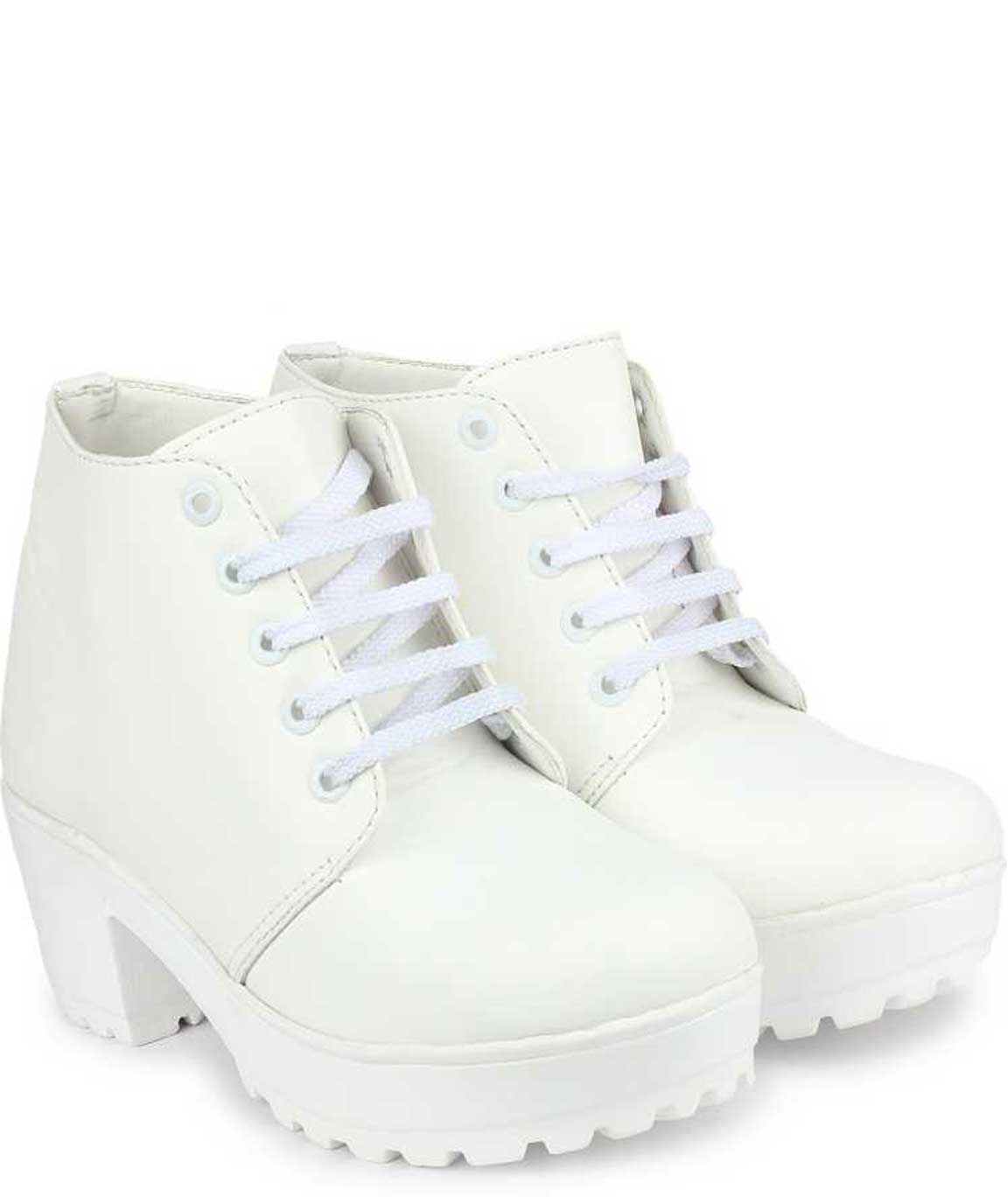 BOOT FOR WOMEN (WHITE)