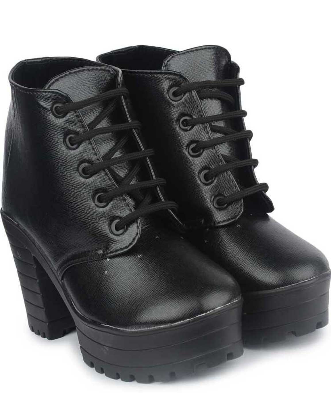 BOOTS FOR WOMEN ( BLACK )