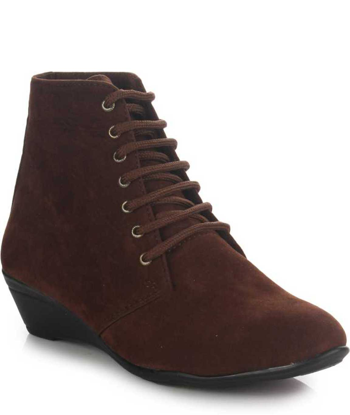 BOOTS FOR WOMEN ( BROWN )