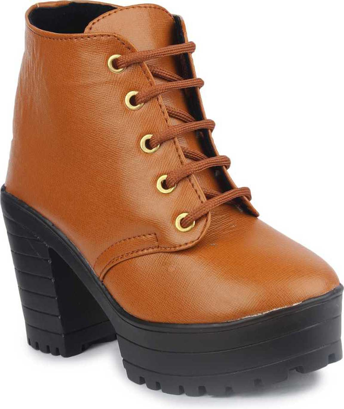 BOOTS FOR WOMEN ( TAN,BROWN)