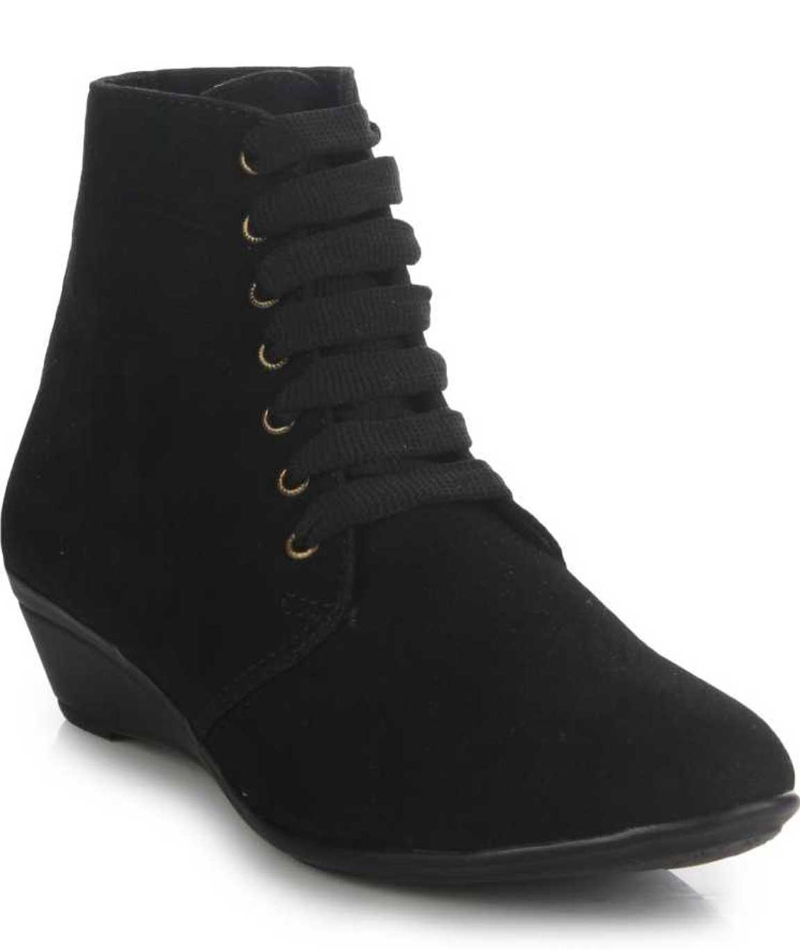 BOOTS FOR WOMEN ( Z-BLACK )