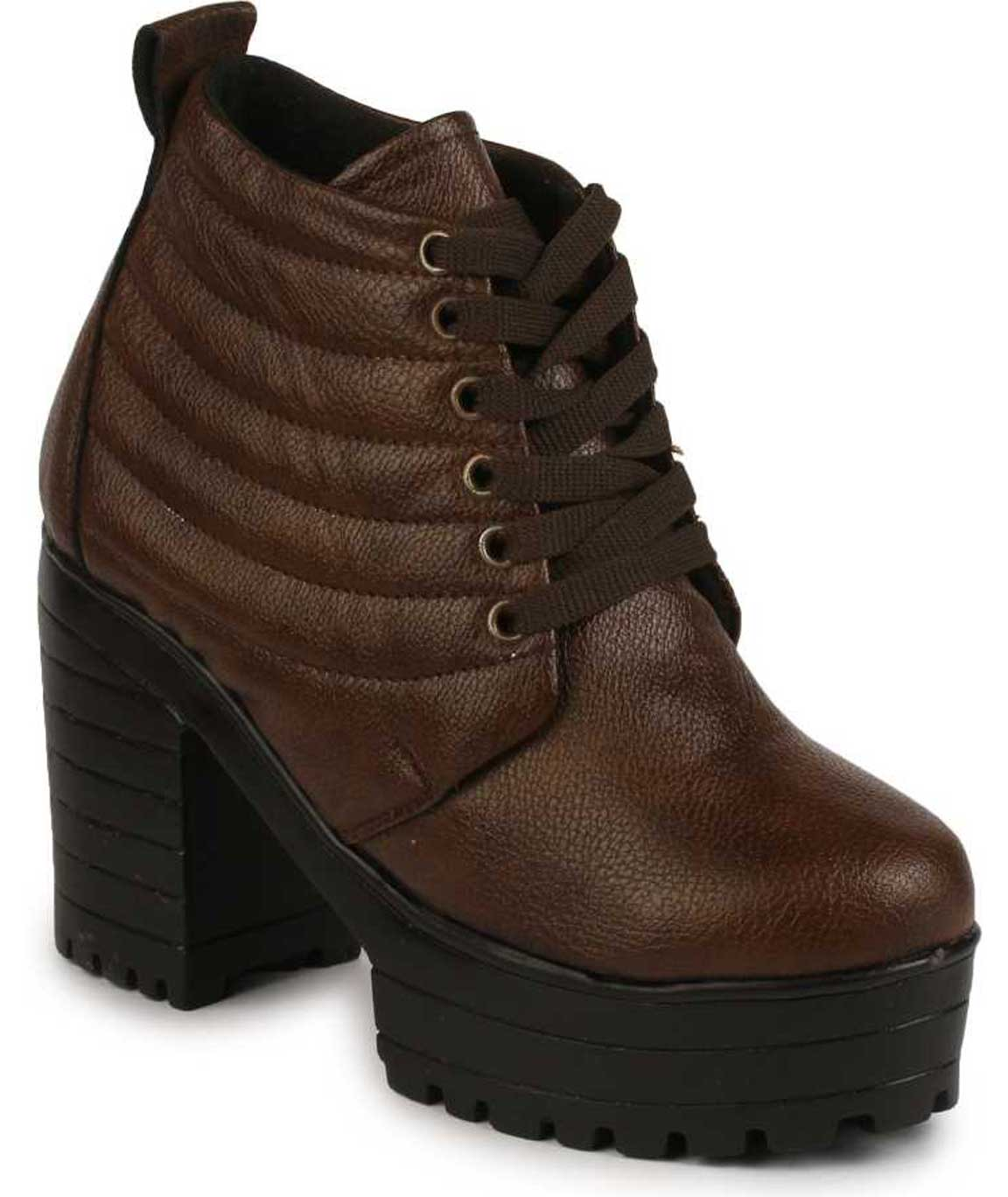 BROWN BOOT FOR WOMEN