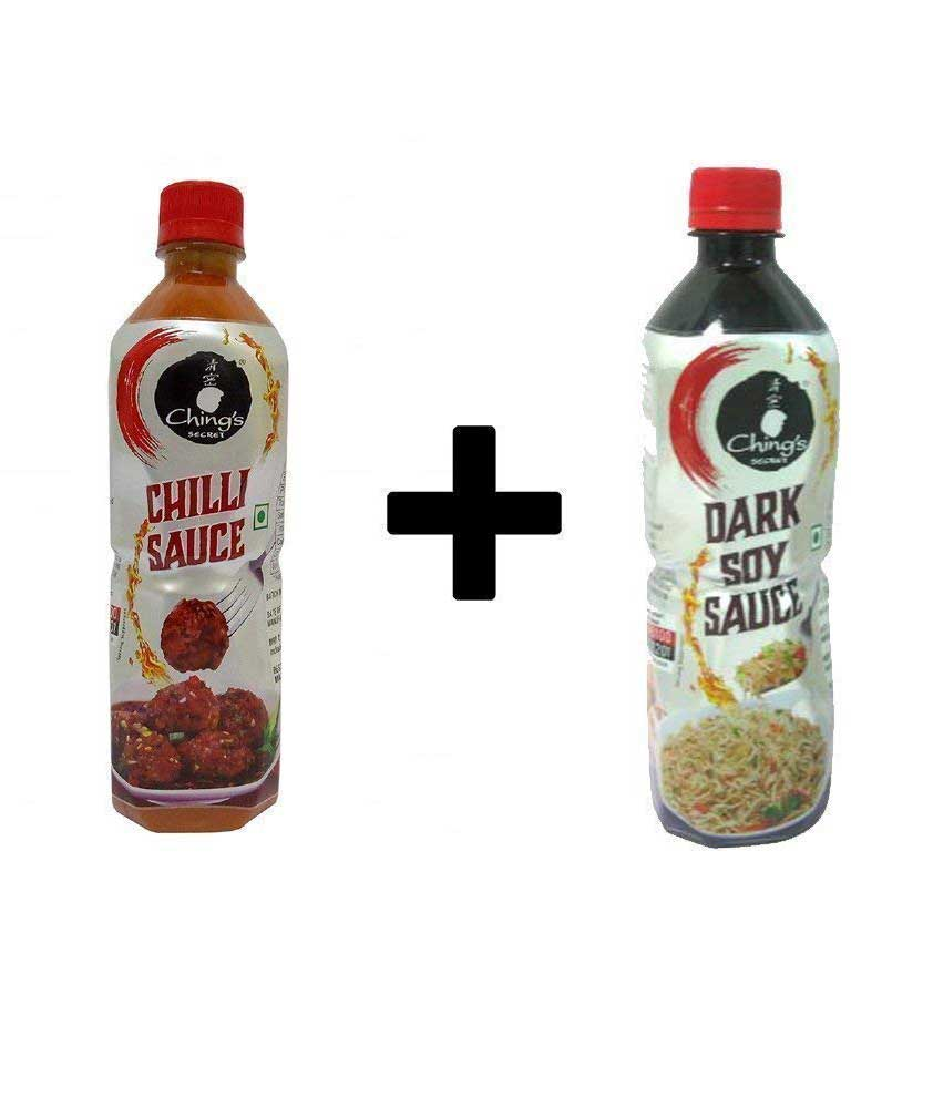 Ching`s Secret Red Chilli and Dark Soy Sauce (Pack of 2)