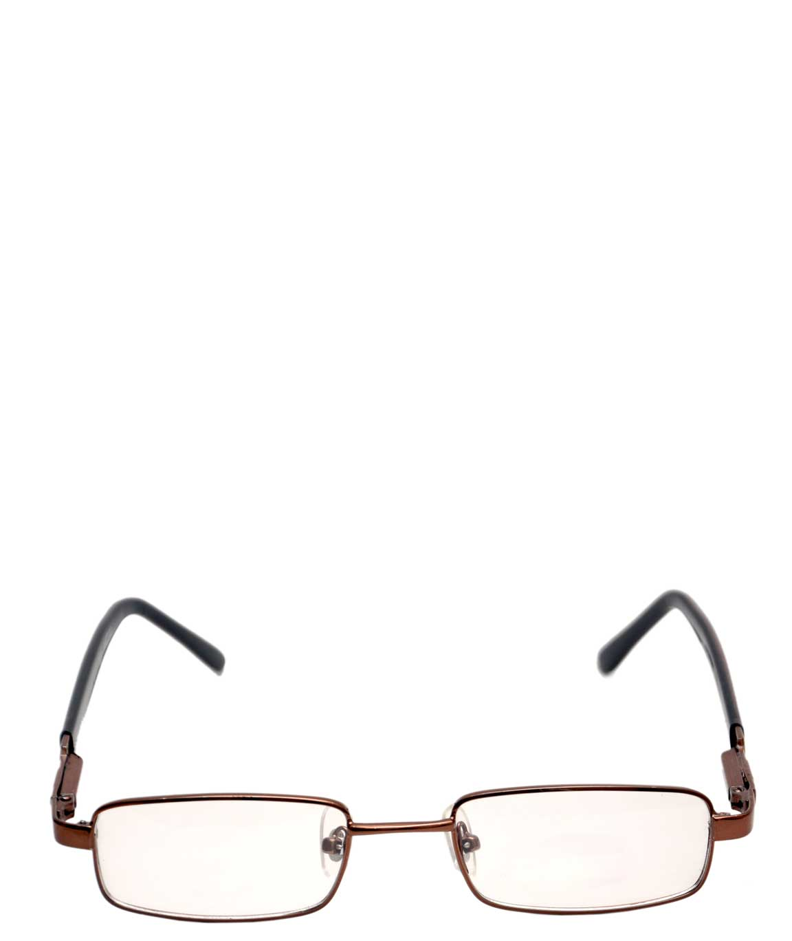CLASSIC LIGHT BROWN FRAME CLEAR AVIATOR