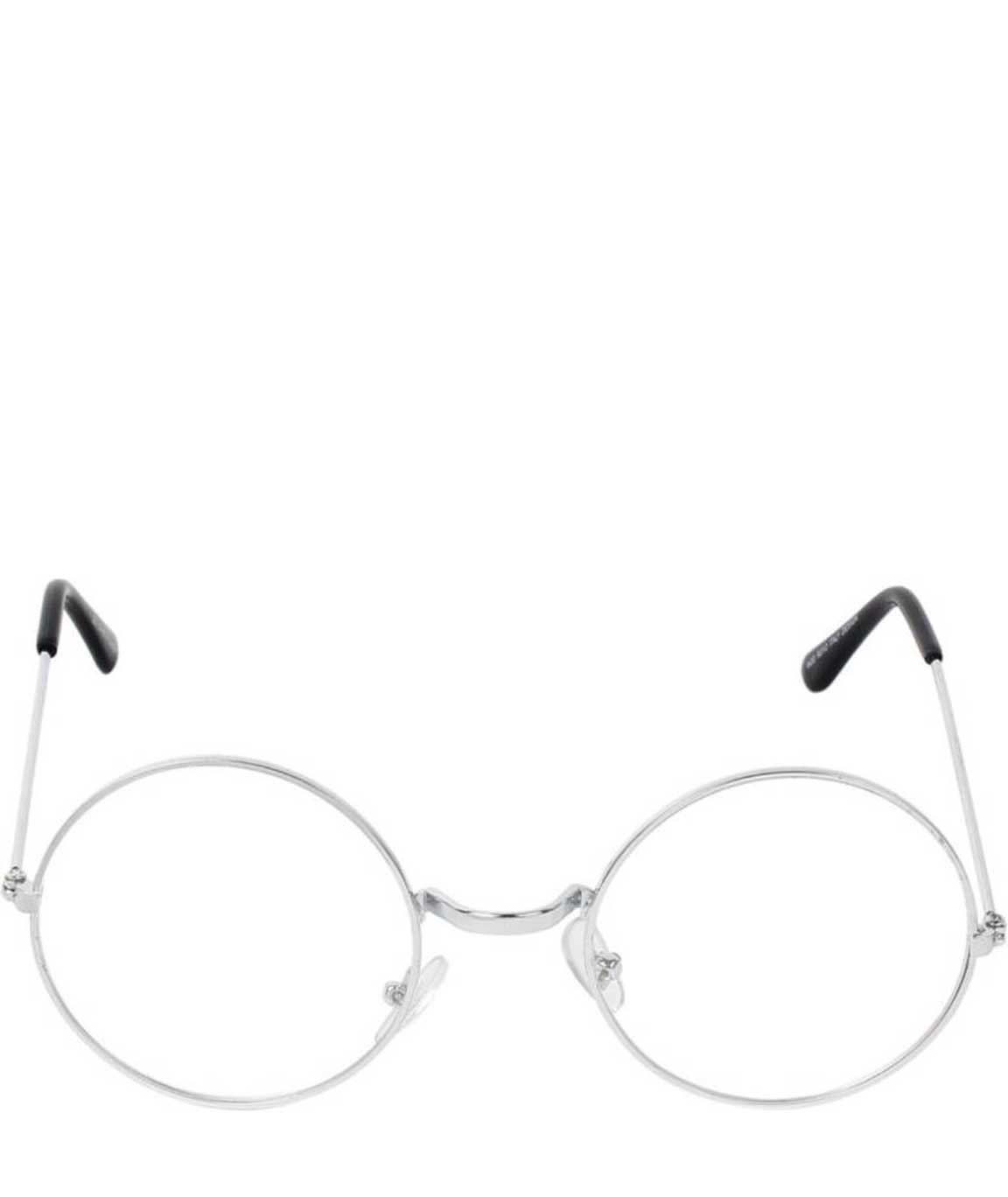 CLEAR ROUND GLASSES4