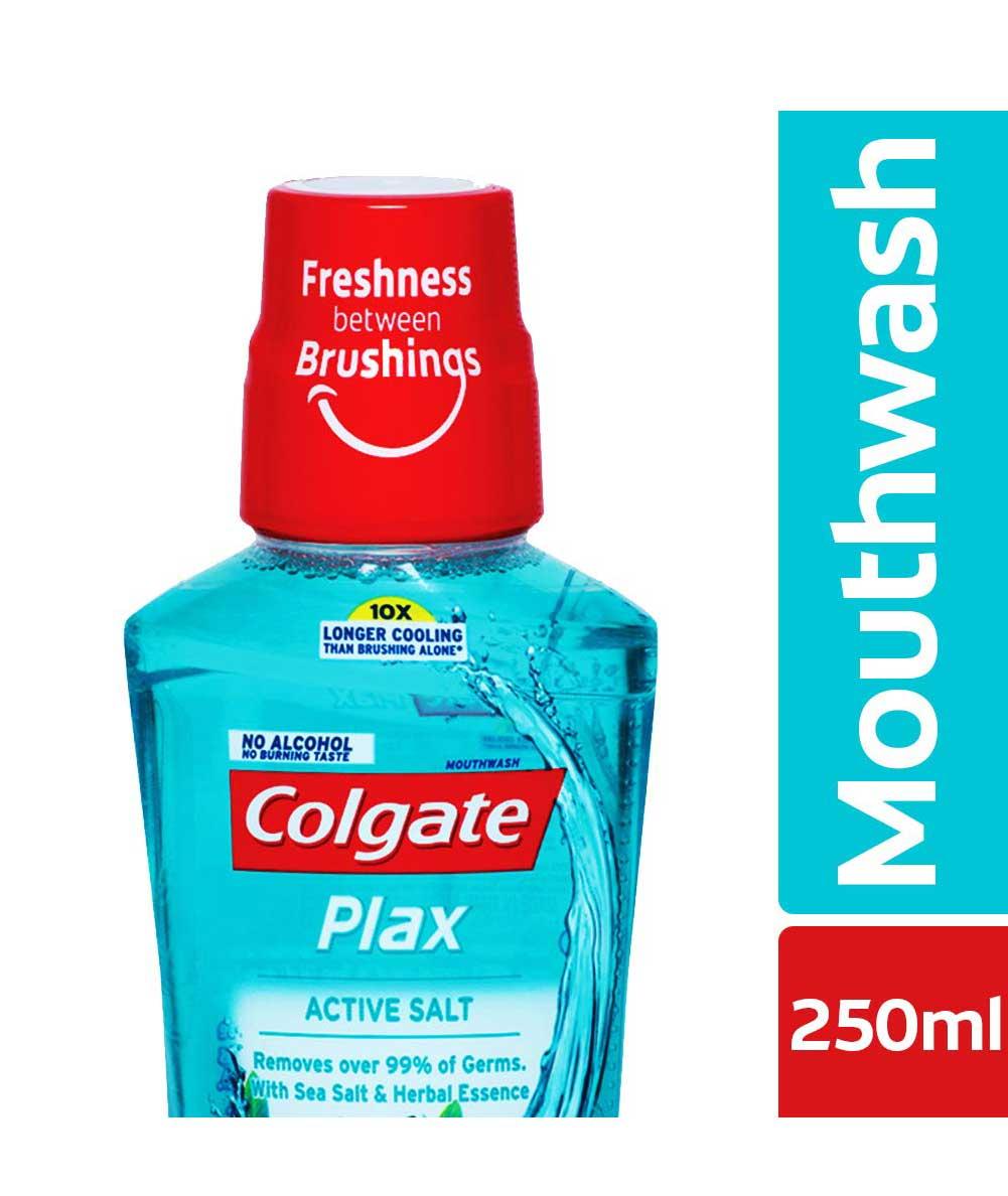 Colgate Plax Active Salt Mouthwash  250 ml