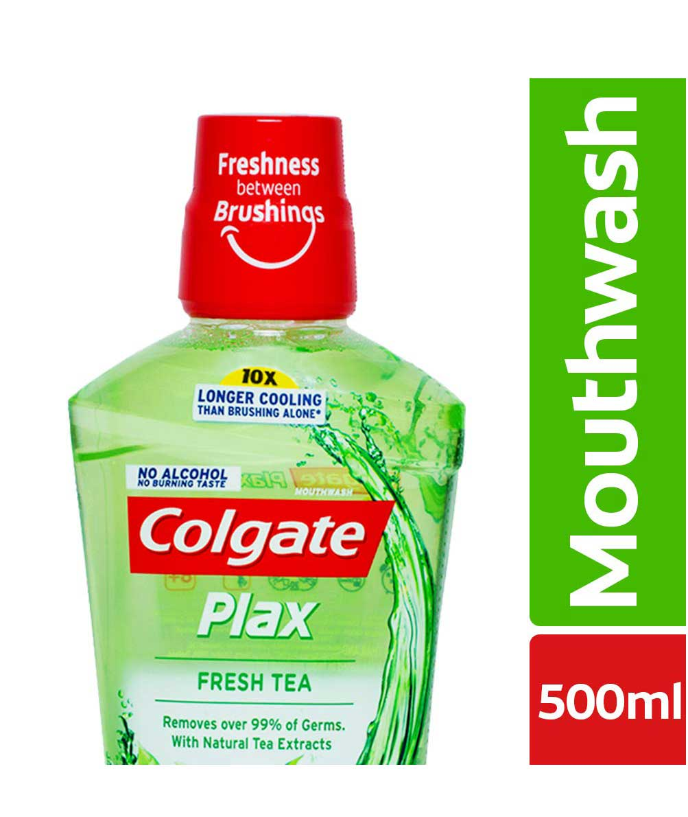 Colgate Plax Fresh Tea Mouthwash 500 ml