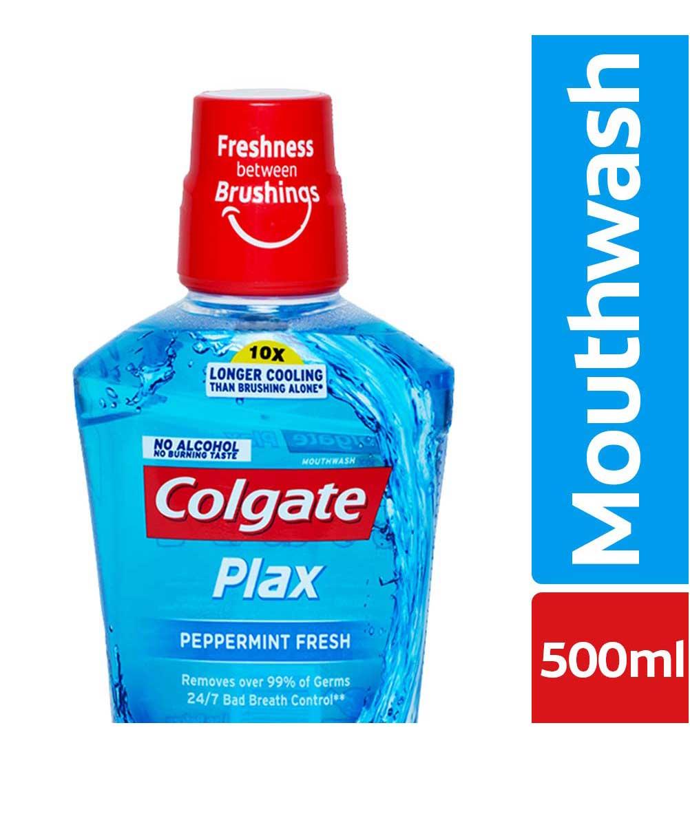 Colgate Plax Peppermint Fresh Mouthwash  500 ml