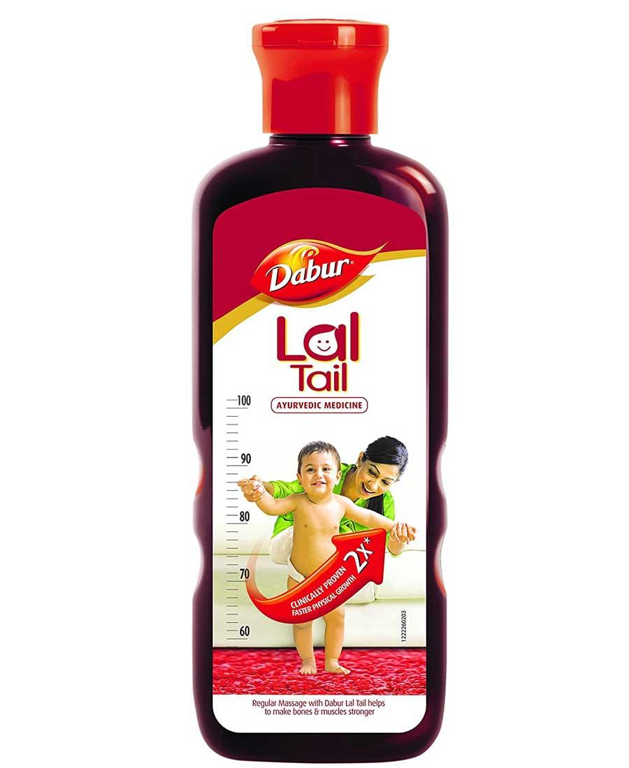 Dabur Lal Tail Ayurvedic Baby Oil