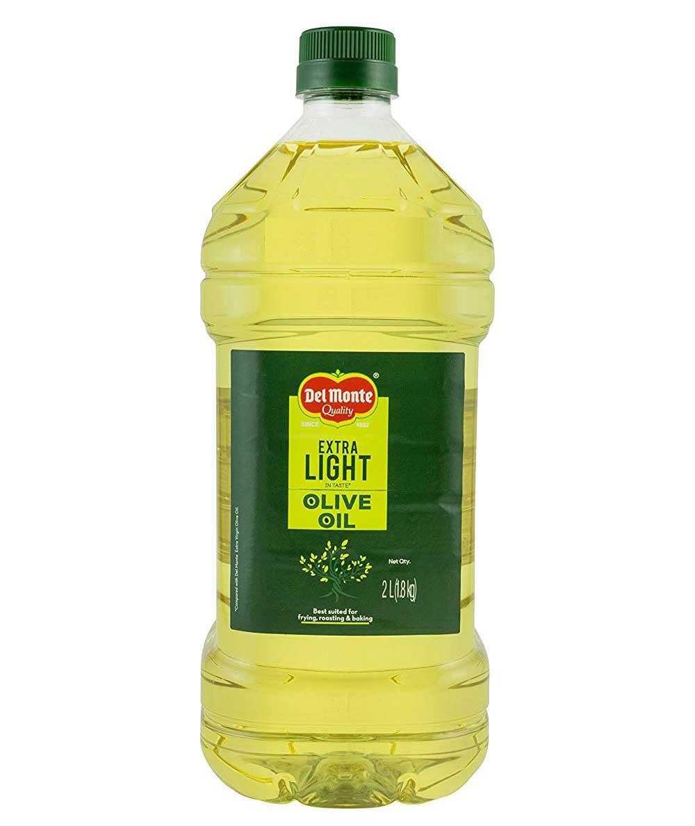 Del Monte Extra Light Olive Oil, 2LT