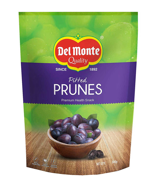 Del Monte Premium Pitted California Prunes, 340g