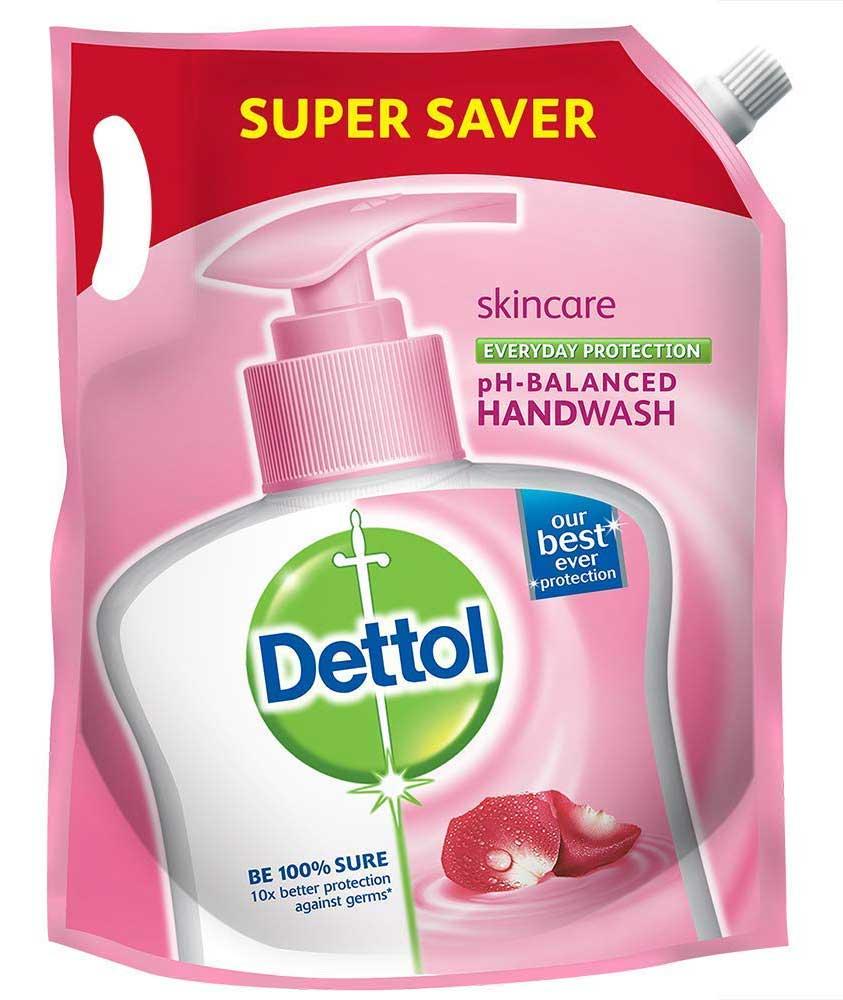 Dettol pH-Balanced Skincare Liquid Handwash Refill 1500ml