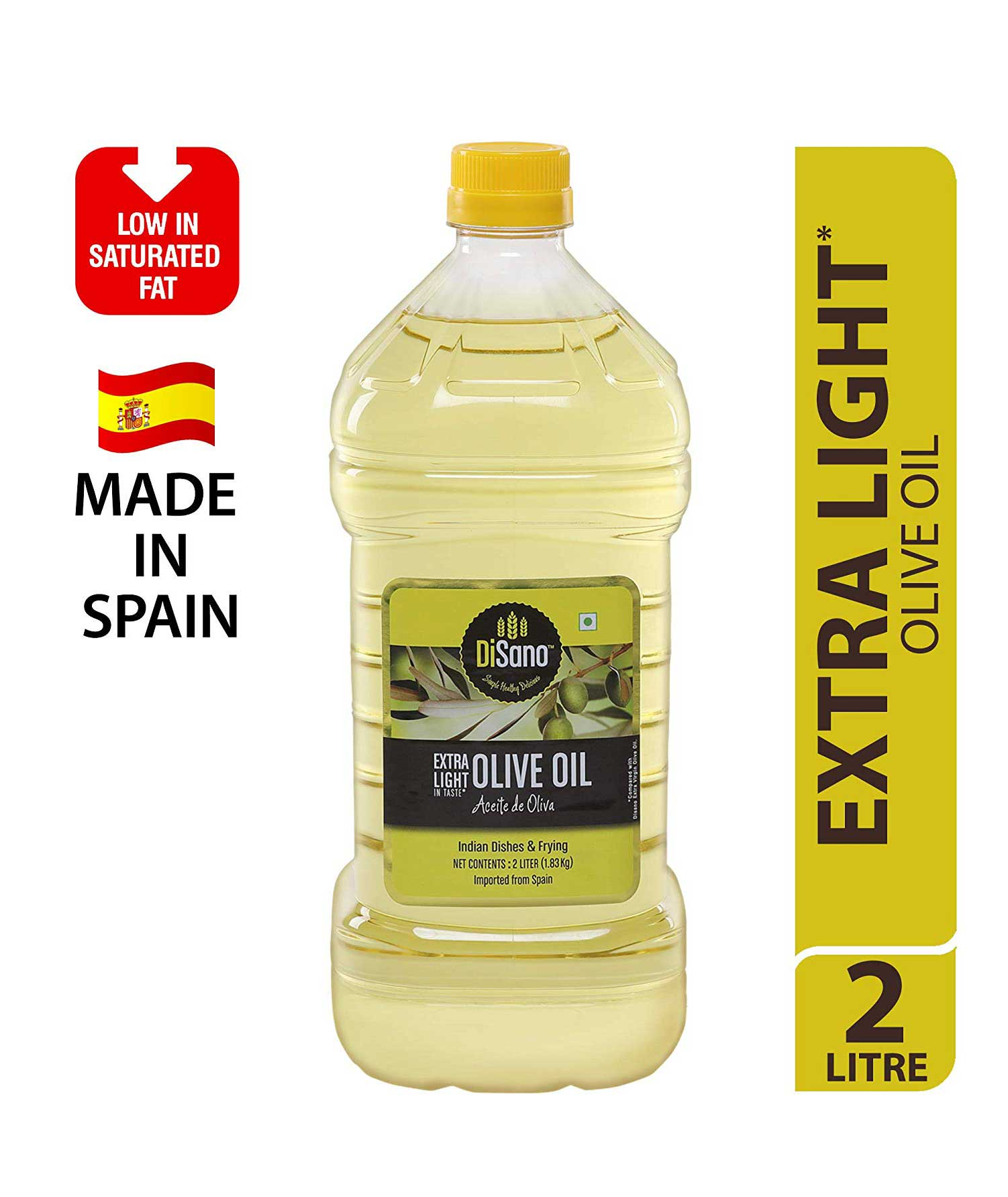 Disano Extra Light Olive Oil 2L