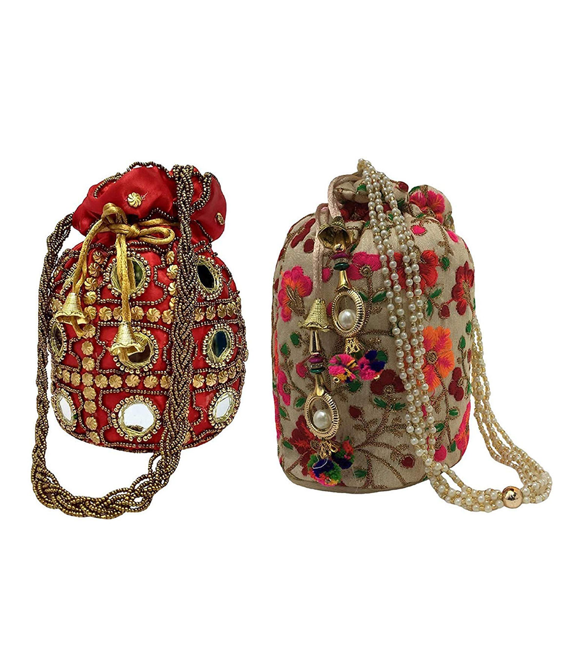 DN Enterprises Latest & Attractive Potli Bags For Women Fancy & Designer Potli Combo