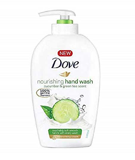 Dove Hand Wash - 220 ml (Cucumber and Green Tea)