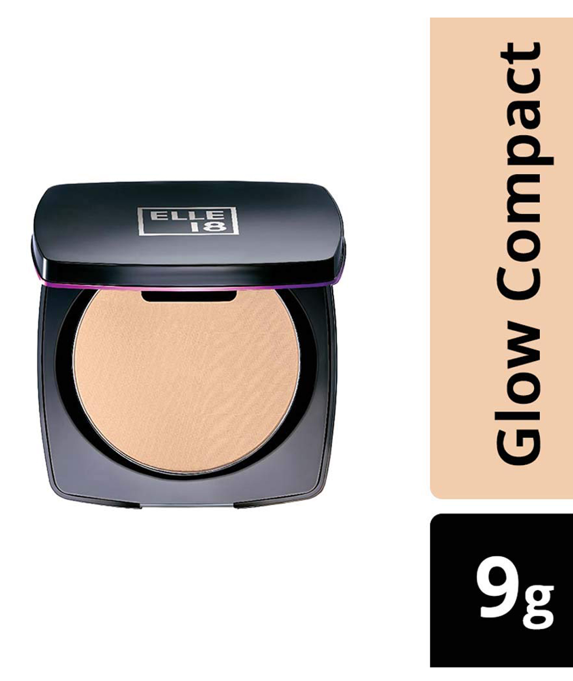 Elle 18 Lasting Glow Compact Coral 9 g