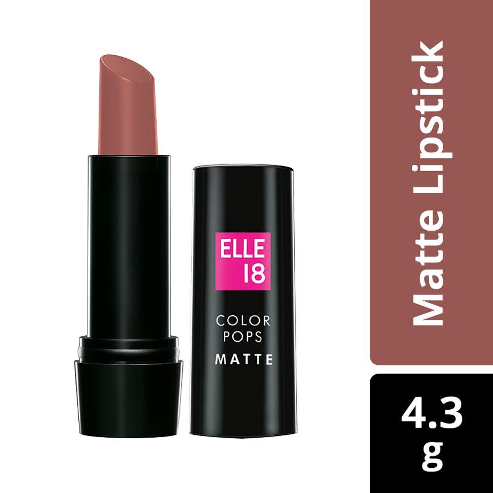 Elle18 Color Pops Matte Lipstick R38 Pink Spice 4.3 g