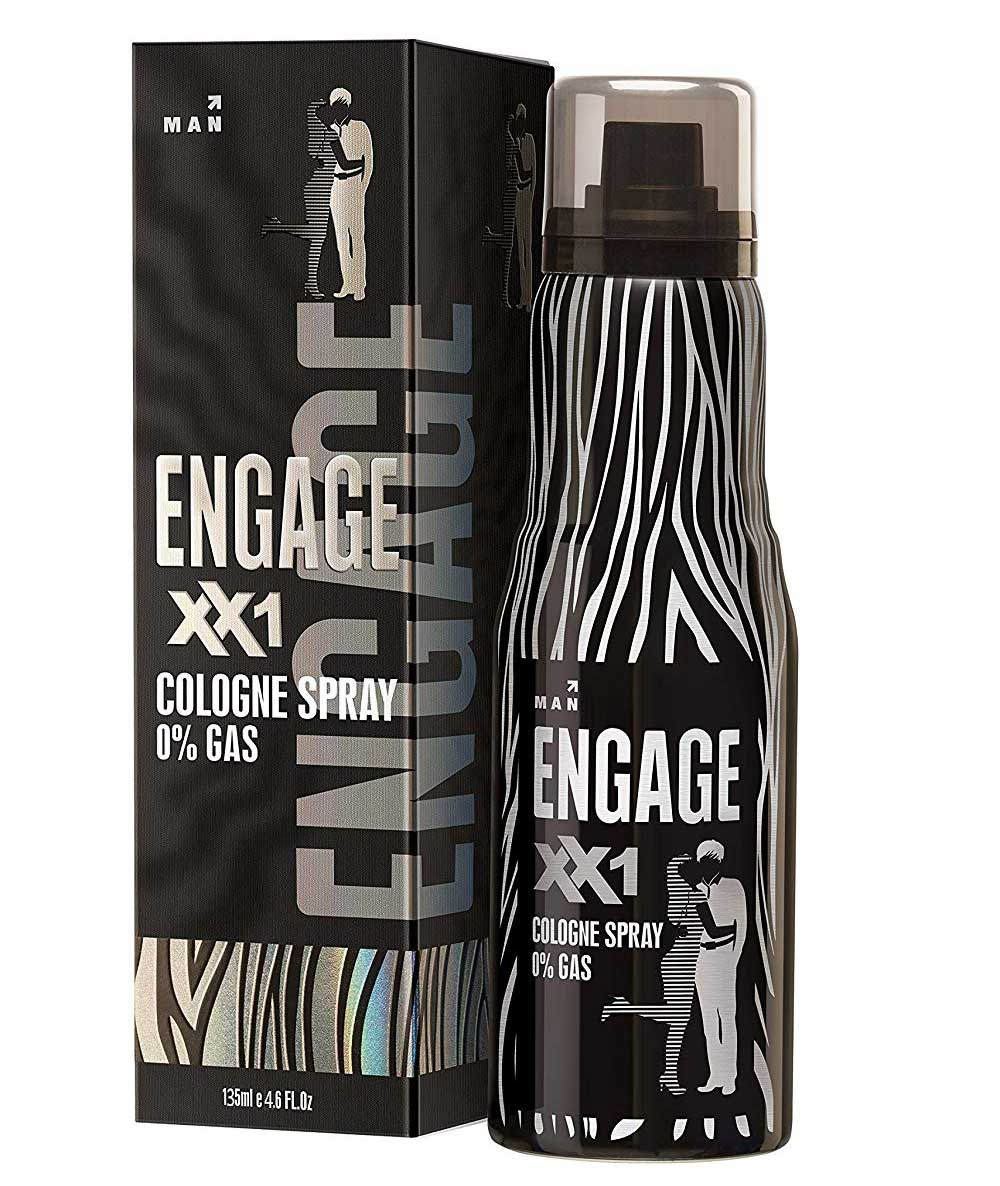 Engage Cologne Spray XX1 for Men, 135ml and Engage Cologne Spray XX3 For Men, 135ml