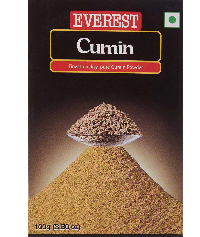 Everest Cumin Powder, 100g Carton