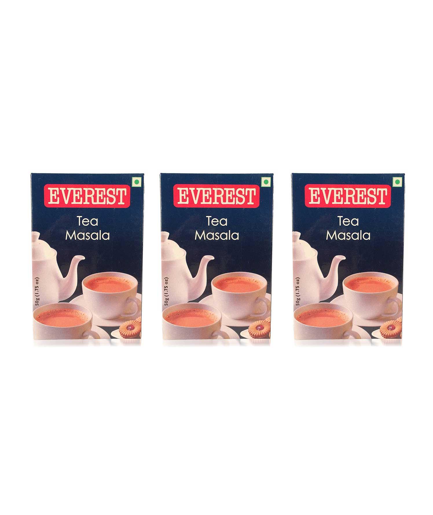 Everest Tea Masala - 50 grams (Pack of 3)
