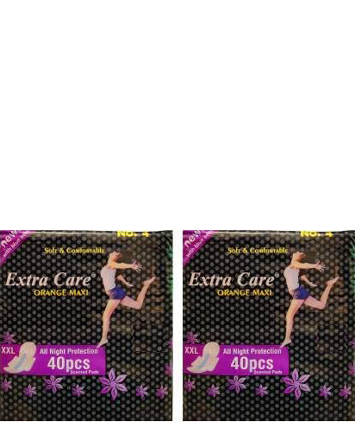 Extra Care Extra Sure Sanitary Pad (Pack of 80) Sanitary Pad