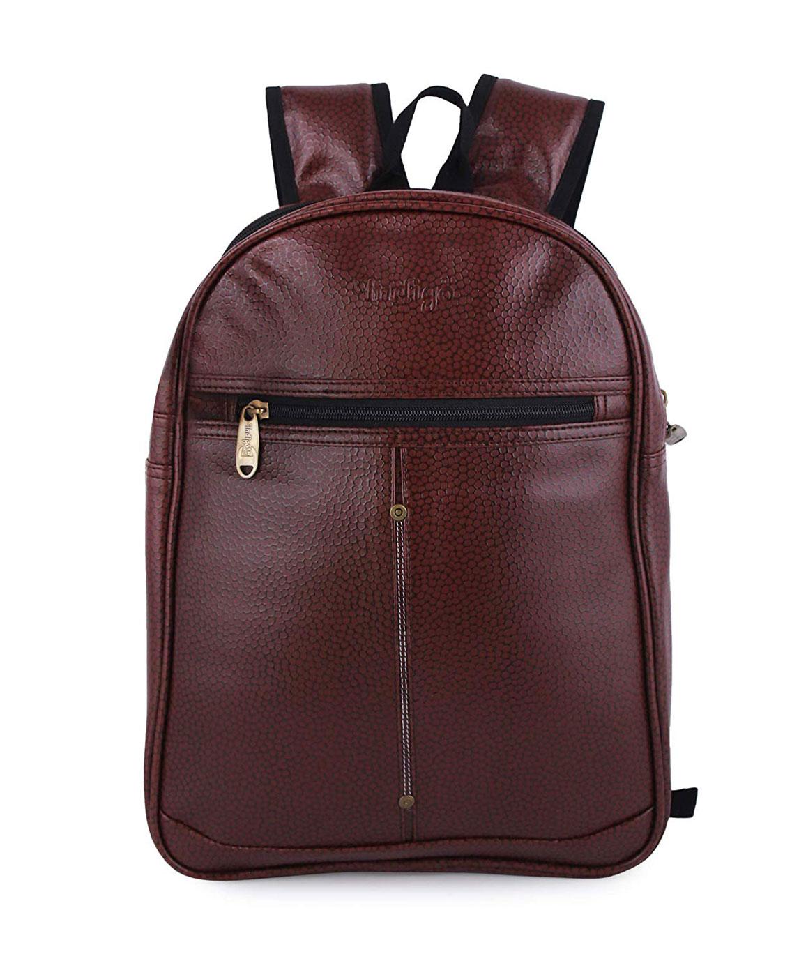 F/Star30 Liters Casual Bagpack/School Bag/Laptop Backpack(Choclate Brown)