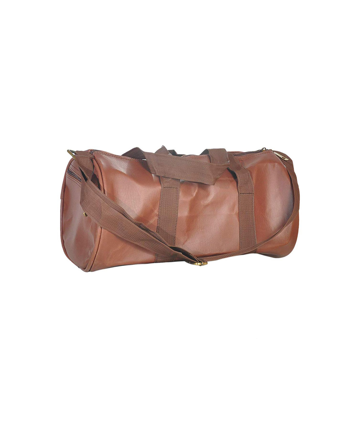Faisal Raza Bag Smart Duffel Bag for Gym and Travelling(Brown/20L)