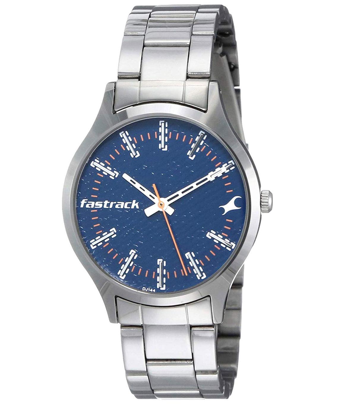 Fastrack Denim Analog Blue Dial Women`s Watch