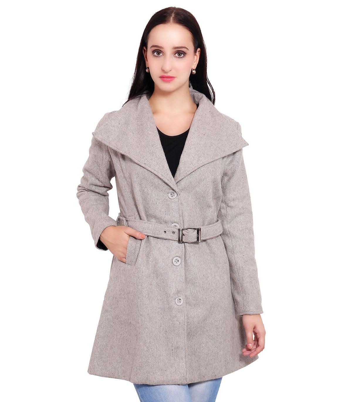 FAZZN Long Woolen Coats(Gray)