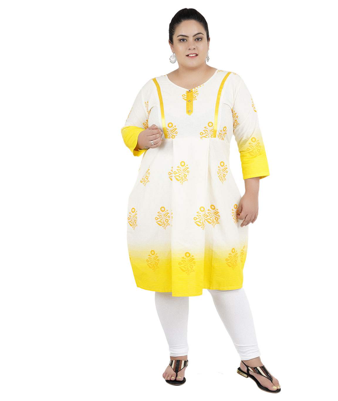 Fazzn Women`s Rayon Straight Kurti (Multi Color)