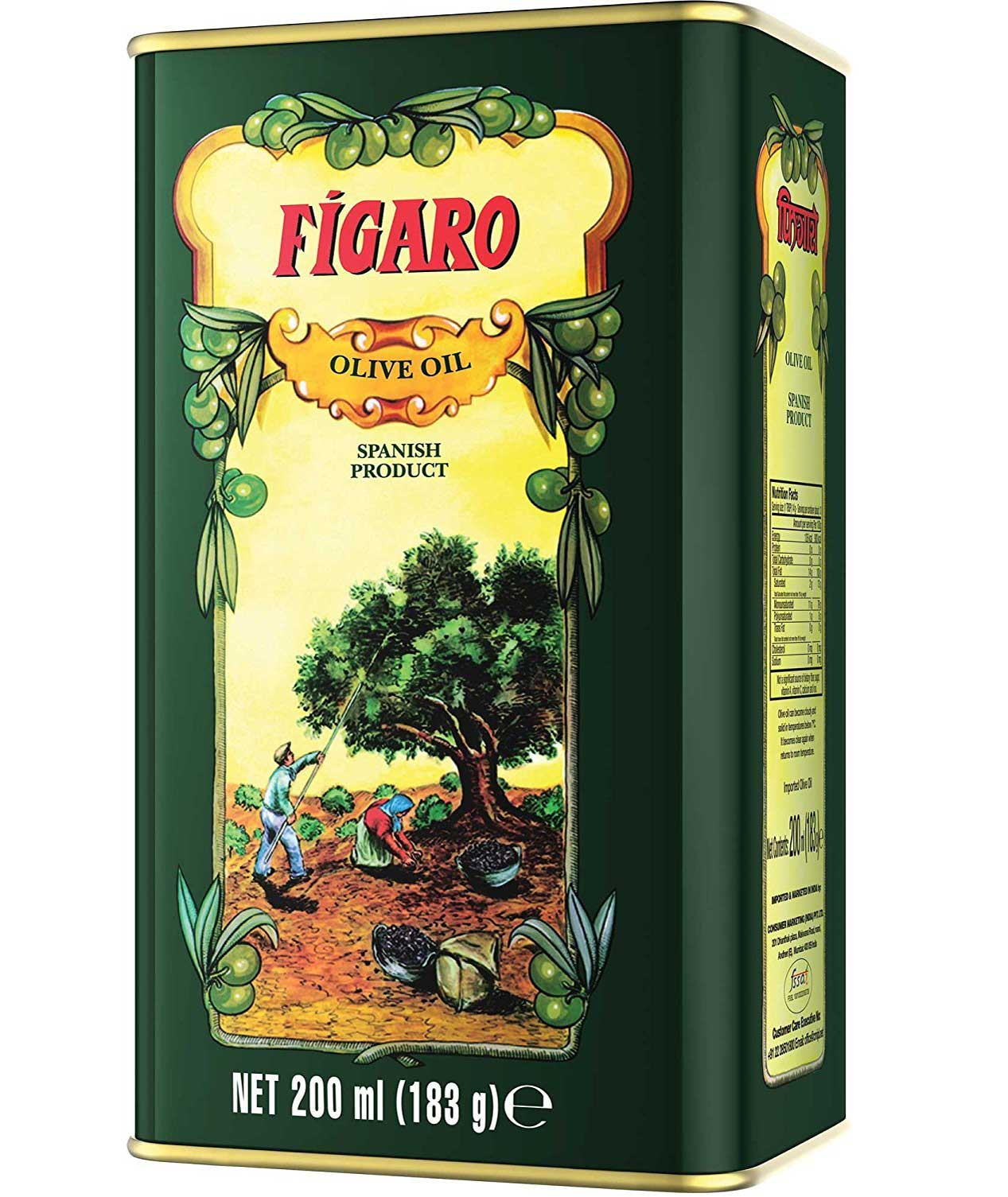 Figaro Olive Oil 200Ml (Pack Of 2) With Ayur Product In Combo
