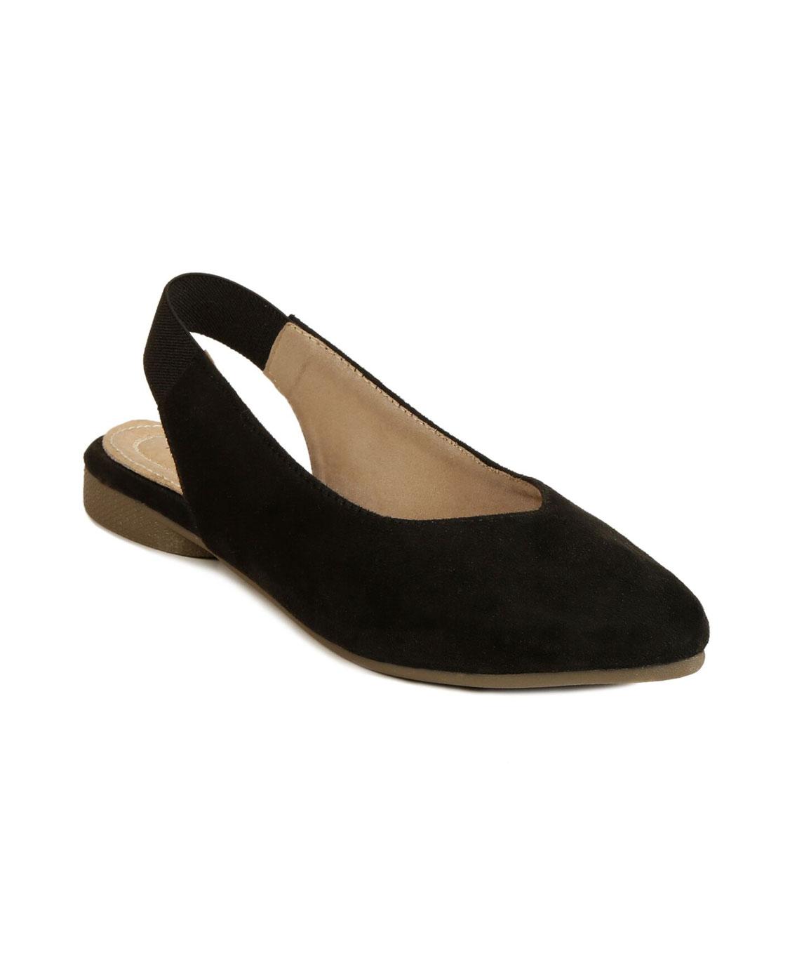 Flomo Women`s Black Resin Casual Sandals