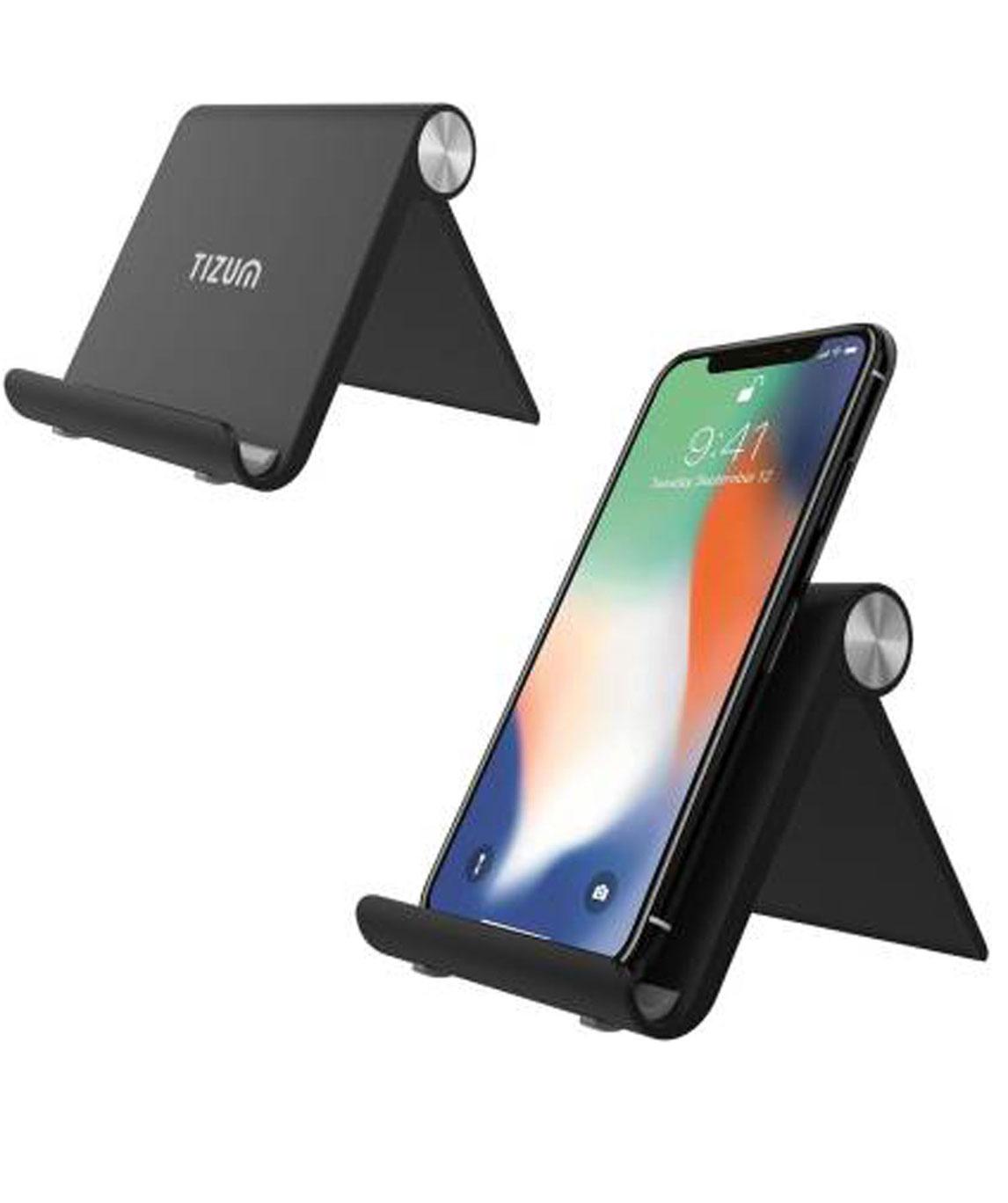 FOLDABLE PORTABLE DESKTOP STAND FOR PHONE, TABLETS MOBILE HOLDER