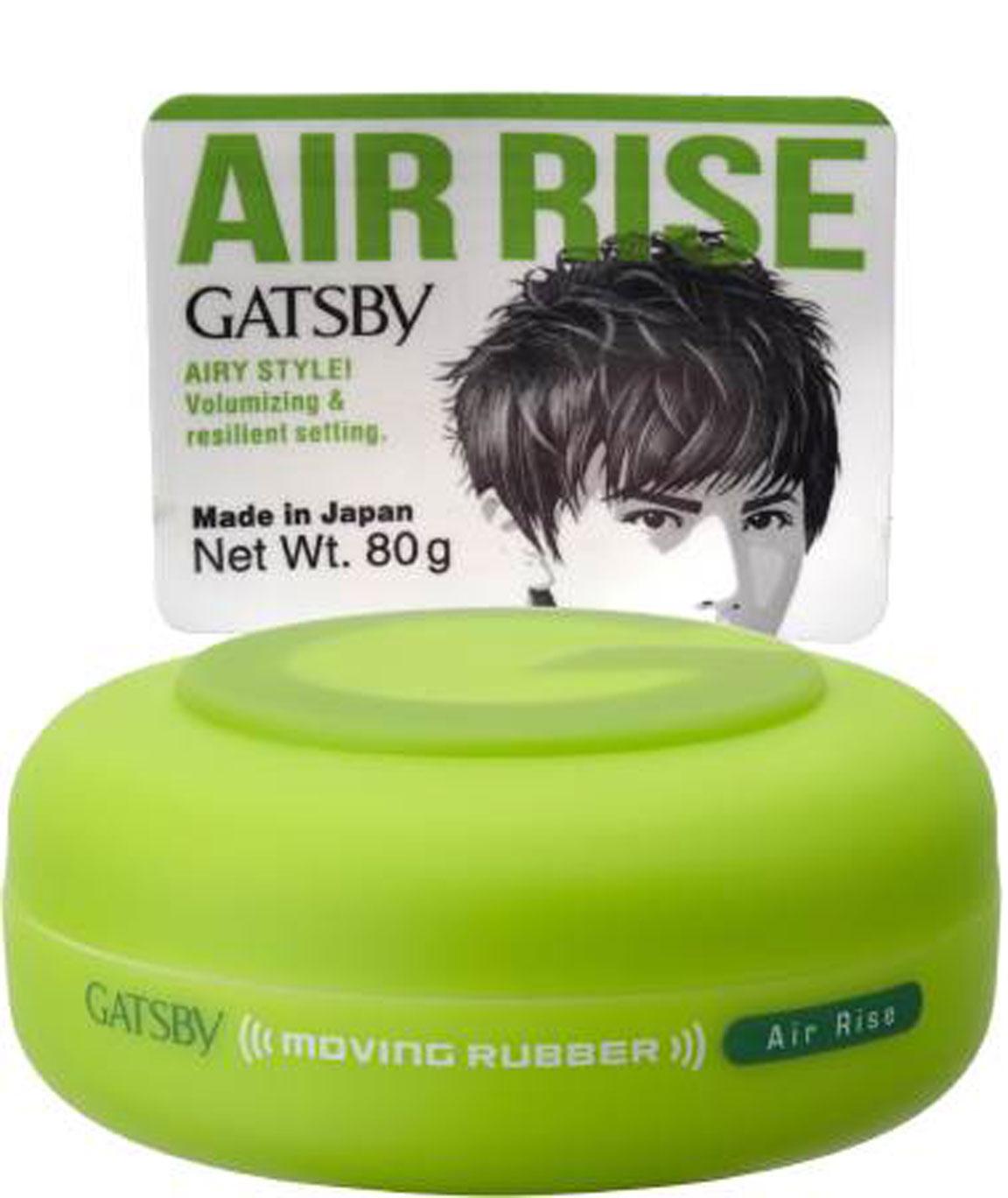 GATSBY MOVING RUBBER AIR RISE WAX (80 G)