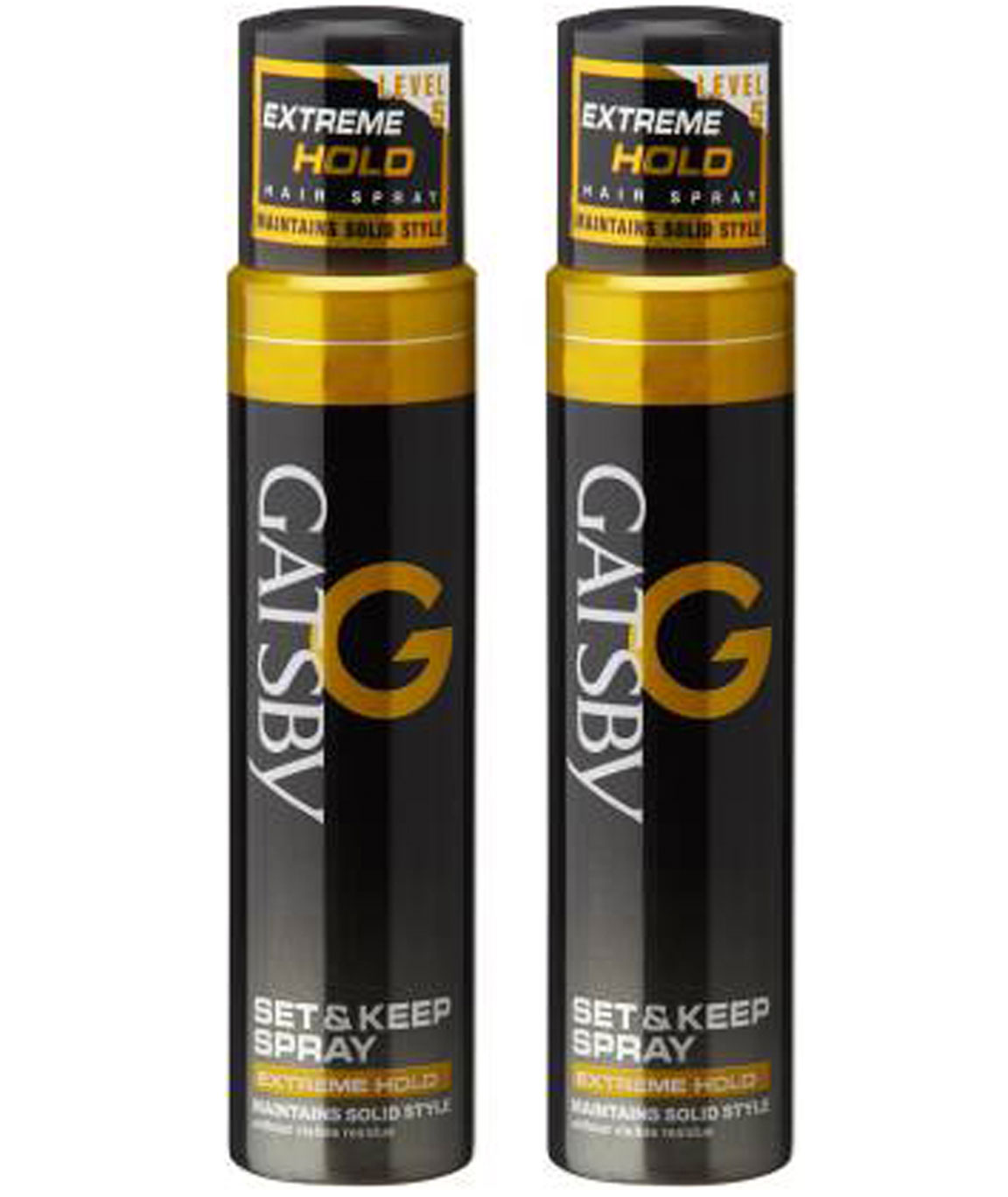 GATSBY SET & KEEP HAIR SPRAY EXTREME HOLD (PACK OF 2) SPRAY (250 ML)