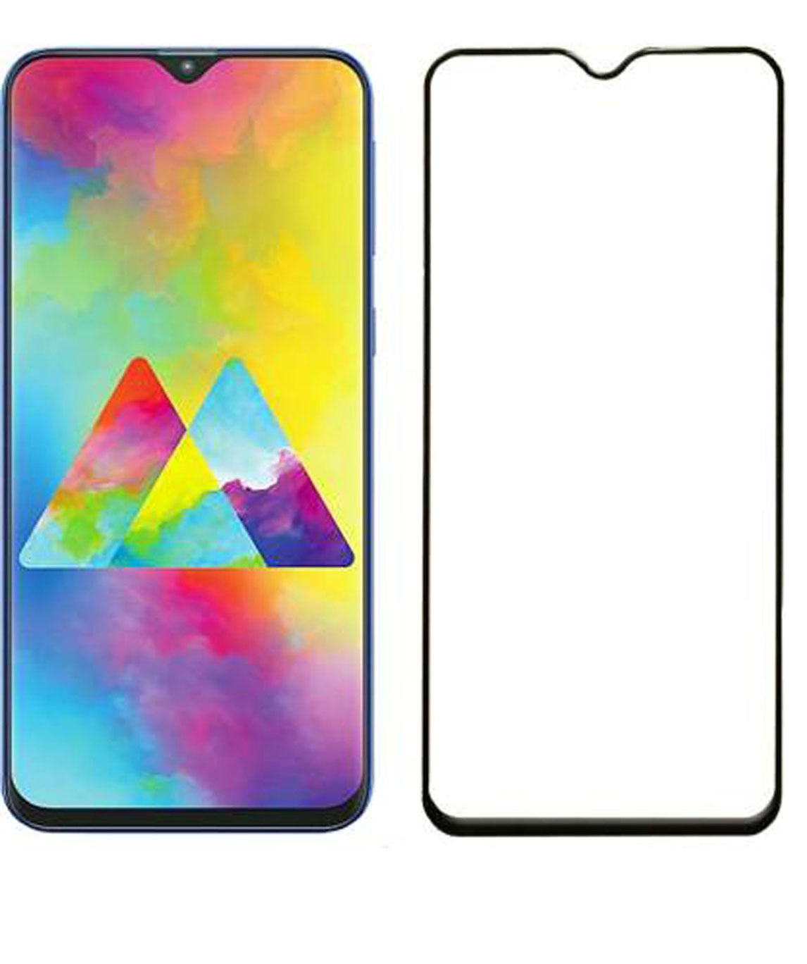 GLASS FOR ASUS ZENFONE MAX M2 N (PACK OF 1)