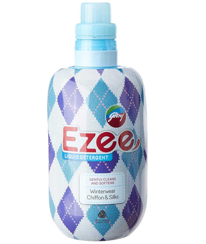 Godrej Ezee Liquid Detergent - 1kg bottle + 1kg refill