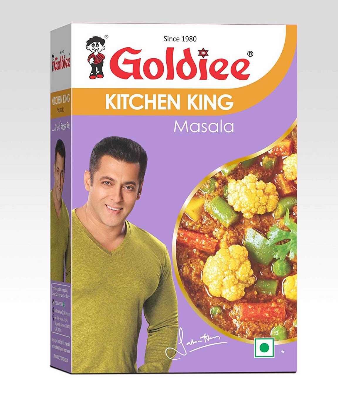 Goldiee Kitchen King Masala, 100g