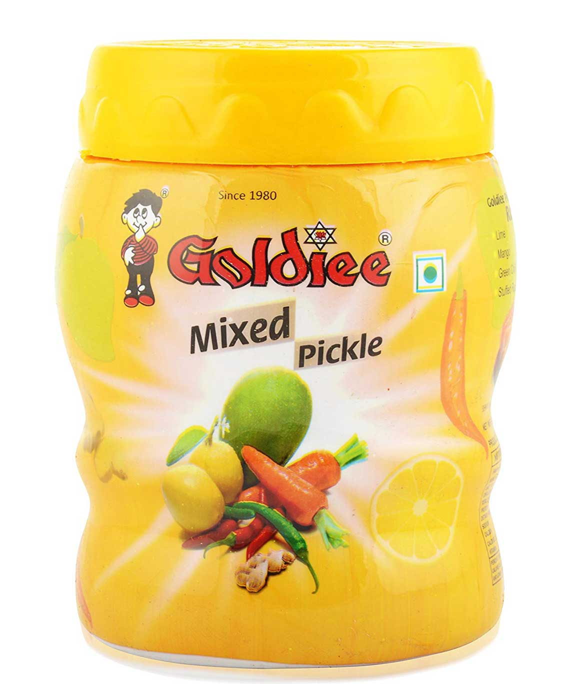 Goldiee Mixed Pickles 1kg