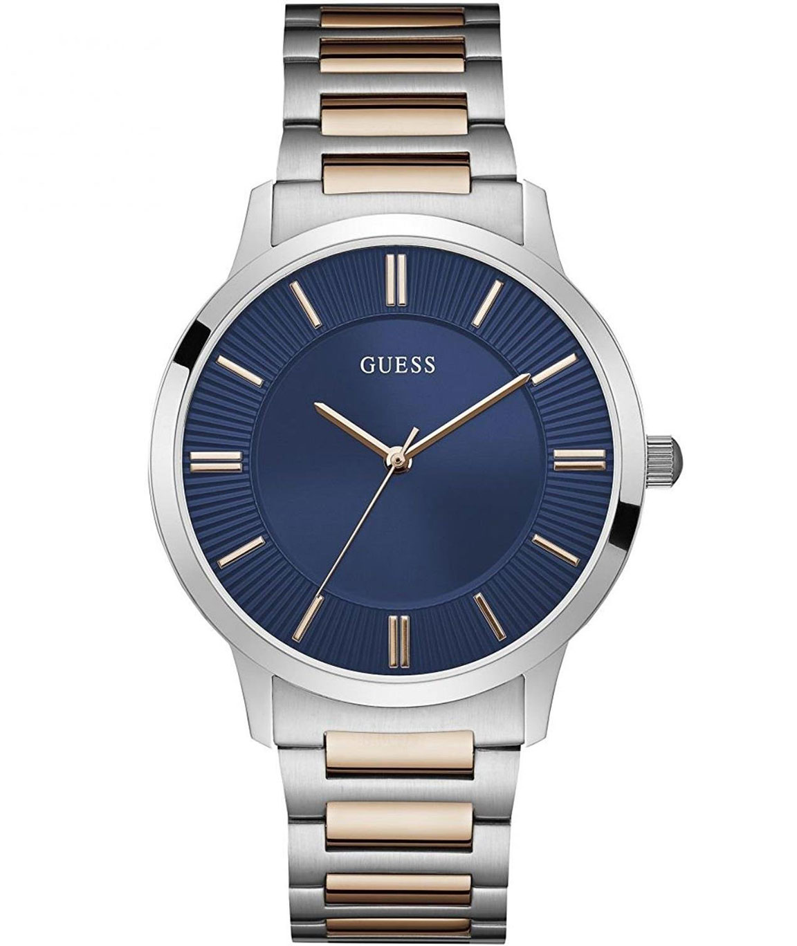 GUESS Analog Blue Dial Men`s Watch