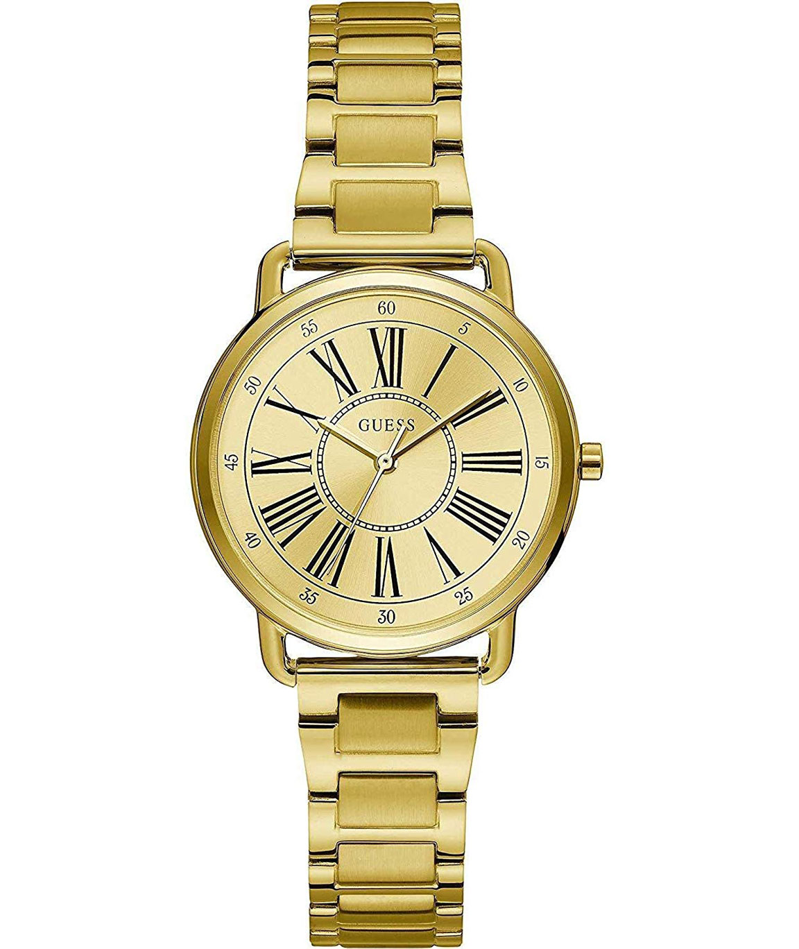 Guess Analog Champagne Dial Women`s Watch