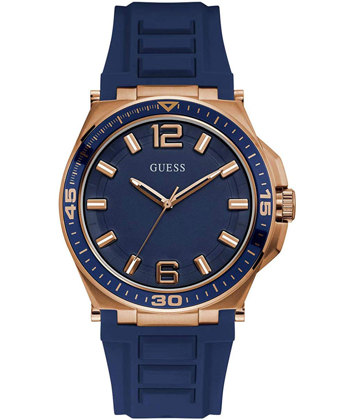 Guess Blue Analog Men`s Watch