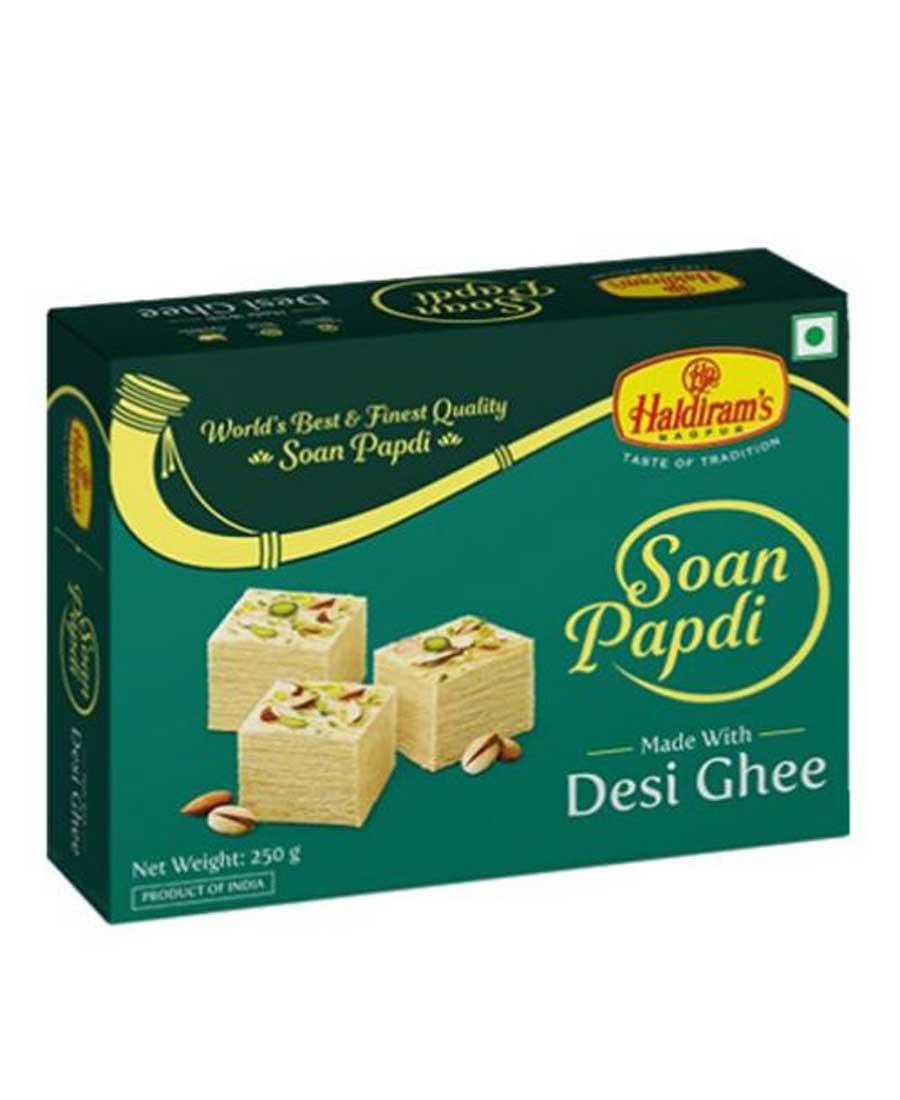 Haldirams Nagpur Soan Papdi Special Ghee