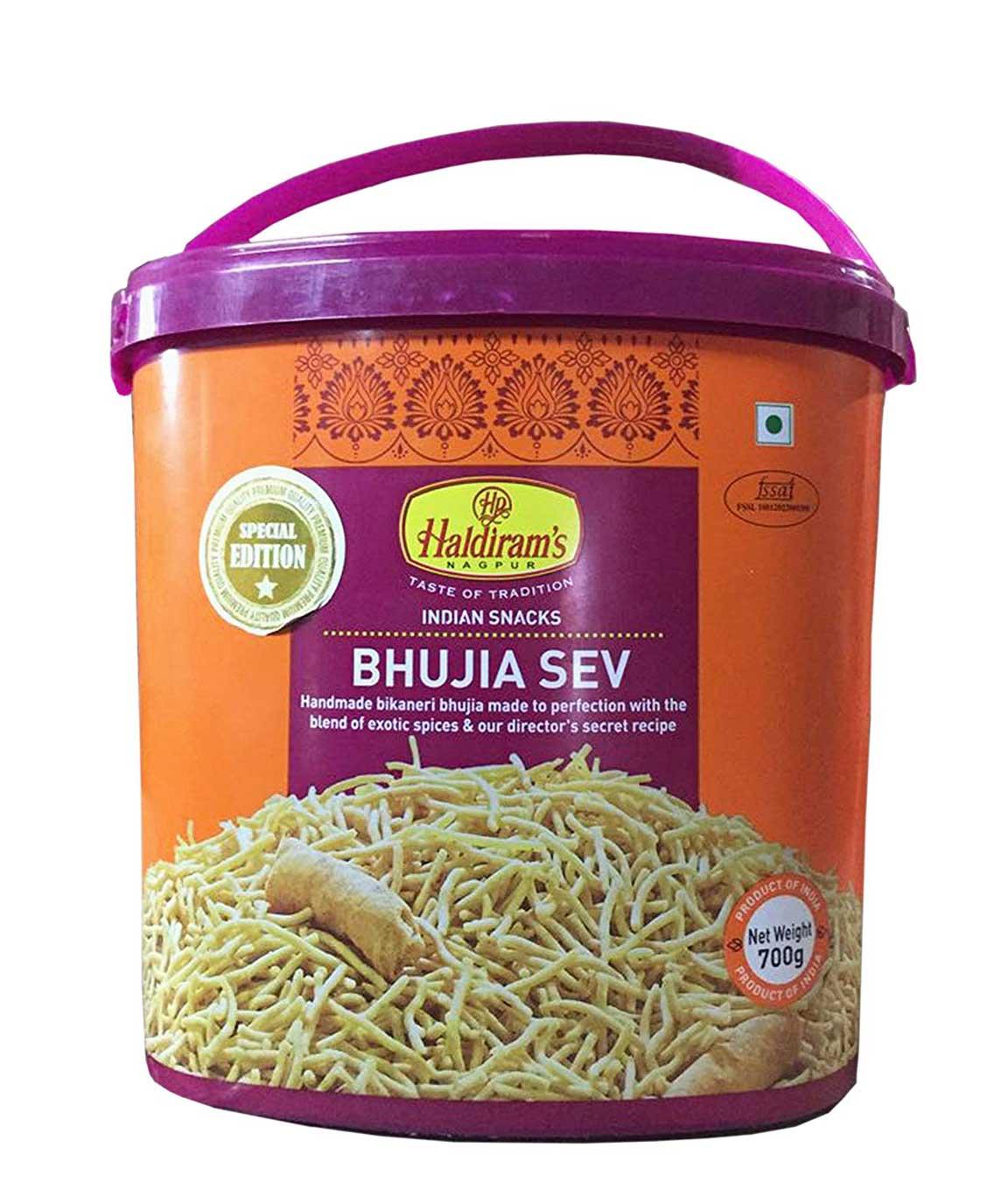 Haldiram`s Bhujia Sev (Jar) 700 gm