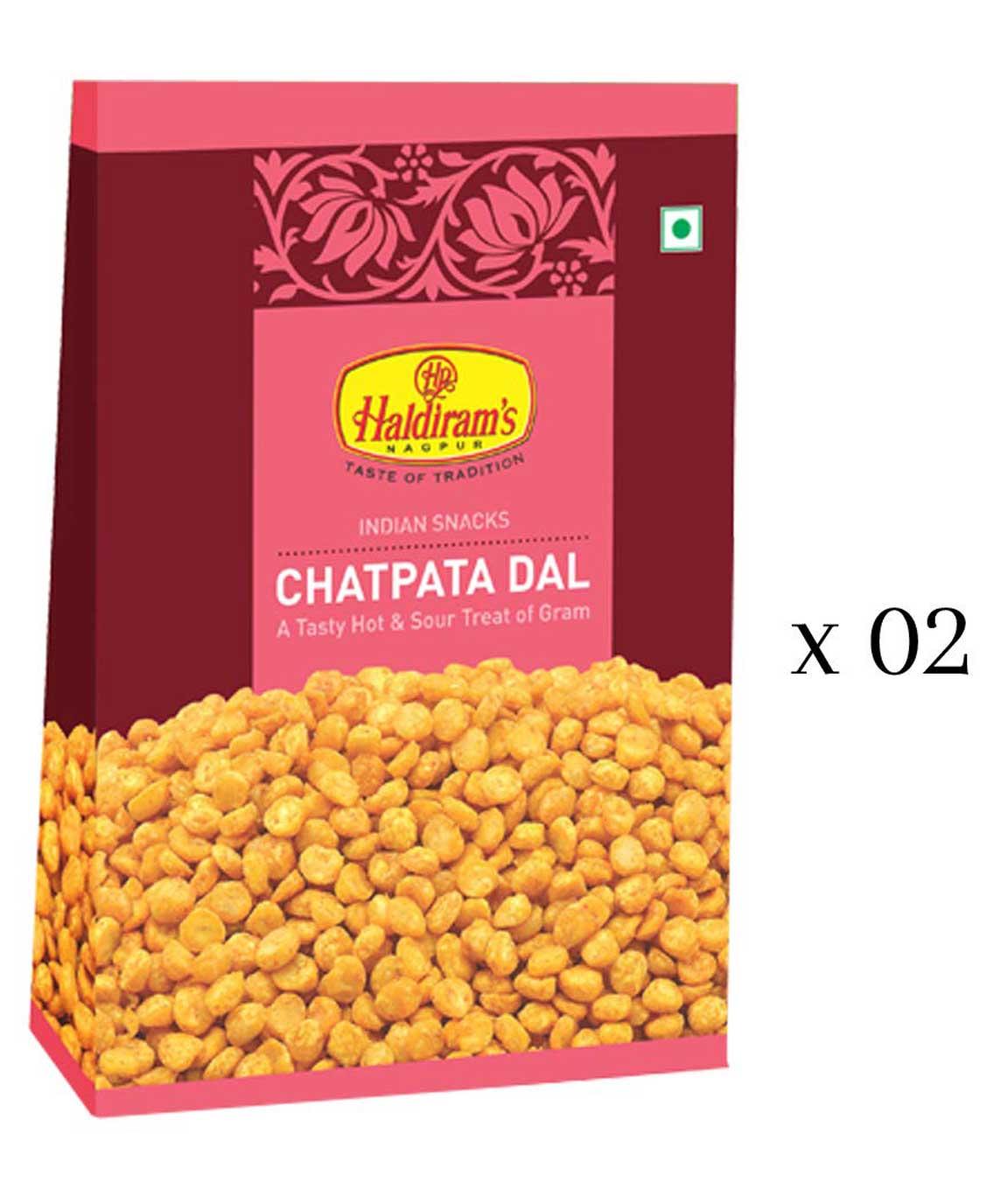 Haldiram`s Chatpata Dal 400 gms (200 gm x Pack of 2)