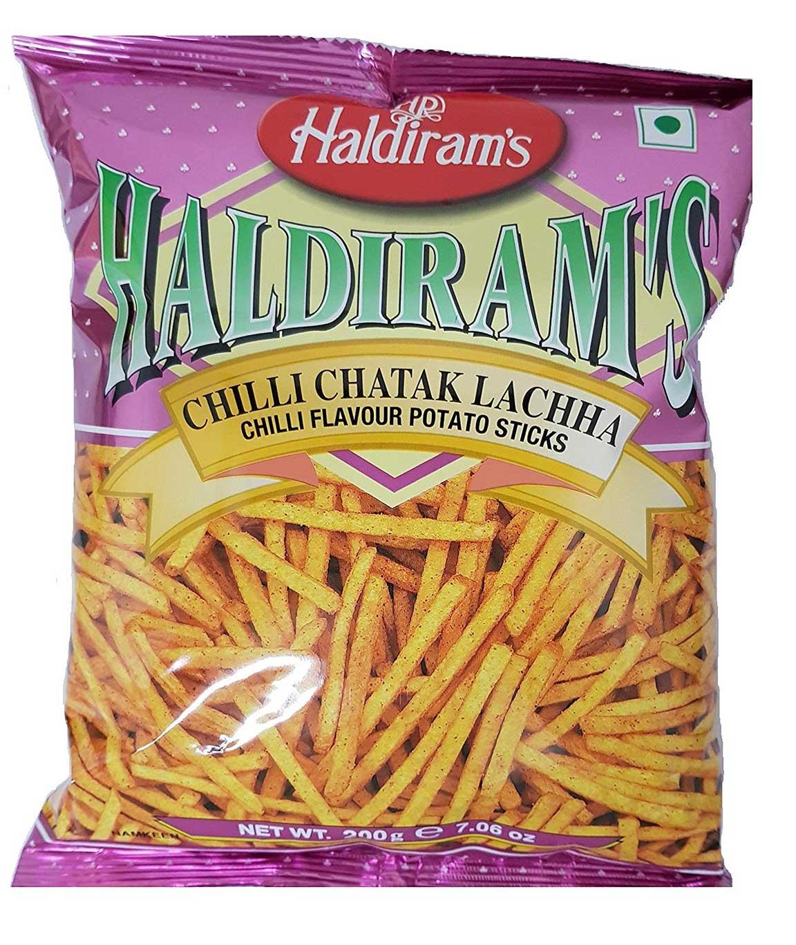 Haldiram`s Chilli Chatak Lachha, 200g