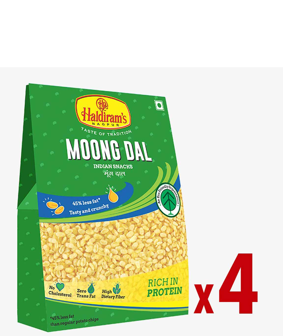 Haldiram`s Moong Dal (Pack of 4 X 200 grm)
