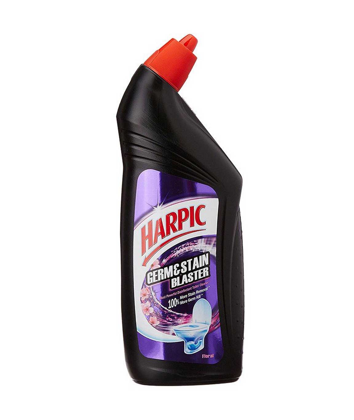 Harpic Germ and Stain Blaster Toilet Cleaner (Floral) - 750 ml